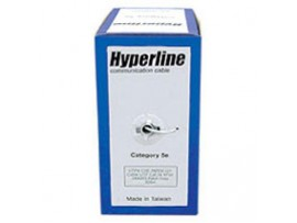 Кабель UTP 305м Hyperline (UTP4-C5e-SOLID-2451- CCA)