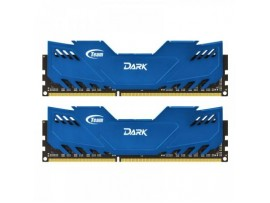 Модуль памяти DDR-3 8GB (2x4GB) 1600 MHz Dark Series Blue Team (TDBED38G1600HC9DC01)