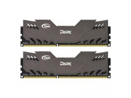 Модуль памяти DDR-3 8GB (2x4GB) 1600 MHz Dark Series Grey Team (TDGED38G1600HC9DC01)
