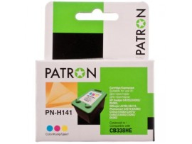 Картридж PATRON HP №141 COLOUR /CB338HE (PN-H141)