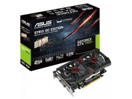 Видеокарта ASUS GeForce GTX750 Ti 2048Mb STRIX (STRIX-GTX750TI-2GD5)