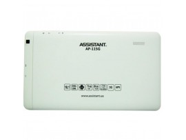 Планшет Assistant AP-115G White Quad