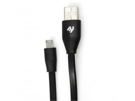 Дата кабель 2E USB 2.0 AM to Micro 5P 1.0m (2E-CCTM03F-1B)