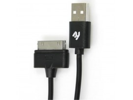 Дата кабель 2E USB 2.0 AM to Apple 30pin 0.9m (2E-CCTI01R-09B)