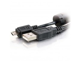 Дата кабель USB 2.0 AM to Micro 5P 1.8m Atcom (9175)