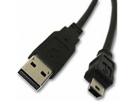 Дата кабель USB 2.0 AM to Mini 5P, 1.8m Atcom (3794)