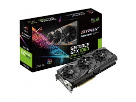 Видеокарта ASUS GeForce GTX1080 8192Mb ROG STRIX GAMING A 11GBPS (ROG-STRIX-GTX1080-A8G-11GBPS)
